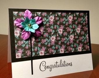 """Original Homemade """"Congratulations"""" Card"""