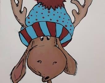 Surprised  Reindeer