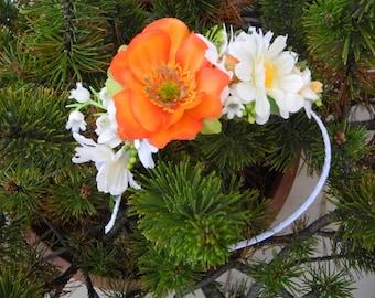 Flower headband Hot Summer
