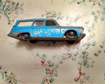 Vintage Matchbox Series #42 Studebaker Lark Wagonaire Made in England by Lesney 1965 Fair Condition