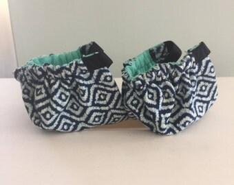 Blue Diamond Shoe Cuties