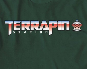 TERRAPIN STATION, Grateful Dead, Jerry Garcia, Phil Lesh, The Dead, Other Ones, Phish, Hippie, dead t shirt, john mayer,dead and company