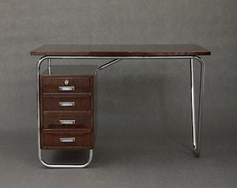 Bauhaus desk from Prague from 30s