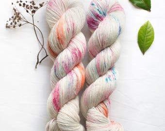 Hand dyed merino single // Tweenie // Indie dyer