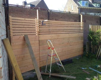 Schema's tuin hek Palisade / / DIY concepten / / tuin en Outdoor Decoration