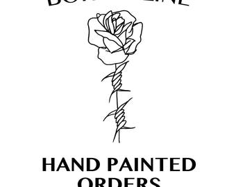 Hand Painted Orders