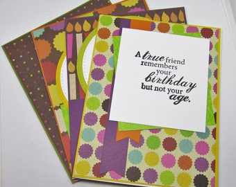 Birthday Card Set - Adult Birthday Card - Elderly Birthday Card - Humorous Birthday Card - Funny Birthday Card - Card Assortment