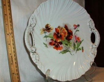 Listing 296 is an Antique Victoria China of Austria dinner plate