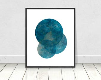 Blue Marble Print, Marble Wall Art, Printable Art, Geometric Print,Abstract Wall Art,Scandinavian Wall Art,Modern Abstract,Minimalist Poster