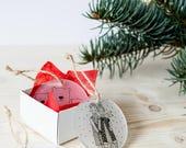 Handmade Christmas Tree Decorations / Plexiglass