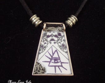 Protection against the evil eye pendant