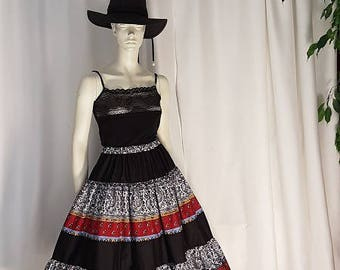 Gorgeous French Provençale skirt 1. HAND MADE