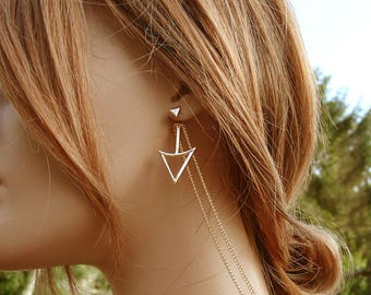 Jewel neck Edelweiss Alyda earrings