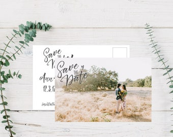 Printable Save the Date, Save the Date Announcement, Photo Save the Date, Save Our Date, Photo Announcement, Download, Save the Date Print