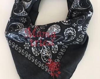 Mama Tried - Custom Embroidered Bandana
