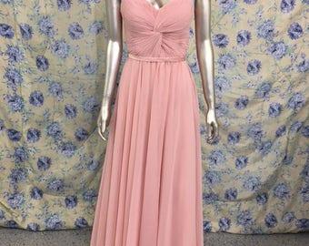 Pink Corset Bridesmaid Dress Sz 8