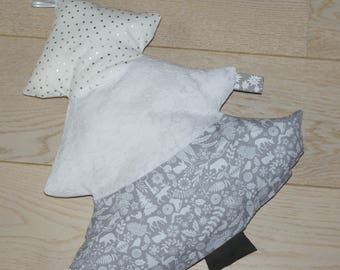 Christmas tree pillow lace leather ribbons