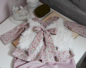 Vest sheep and liberty eloise pink