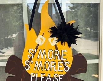 S'mores Door Sign