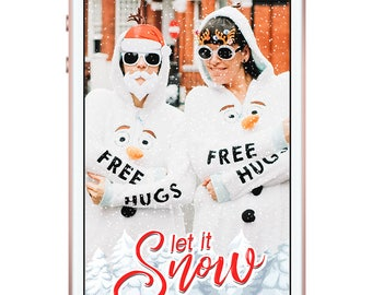 Let It Snow Snapchat Filter, Let It Snow Snapchat Geofilter, Let It Snow Snapchat, Let It Snow Geofilter, Let It Snow  Filter