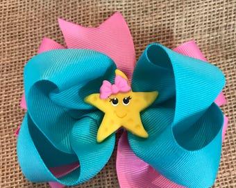 """3"""" Starfish Hairbow"""