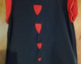 sleeveless Fleece Sweatshirt