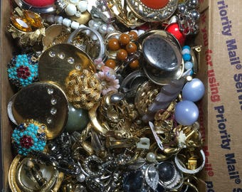 Vintage to now collection earrings, clip ons