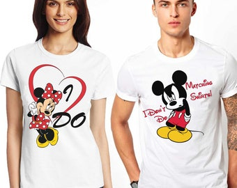I don't do matching t-shirts - I do. Affordable couple tees  fashion for every occasion