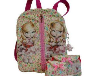 Bag-backpack, purse, backpack, crafts