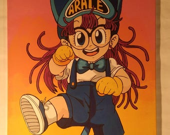 Dr.Slump Arale table