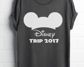 Disney trip 2017 shirts - Disney family shirts / Disney trip shirts