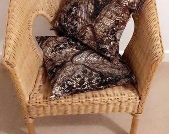 KAWA - Wax Cushions Cover (set of 2)