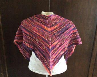 Cashmere merino shawlette