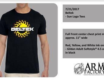 Beltek Festival Shirt - Black