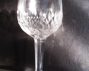 Webb Corbett (now Royal Doulton) vintage crystal water goblet