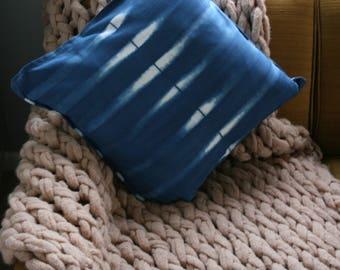 Simple as That | Indigo Shibori Pillowcase