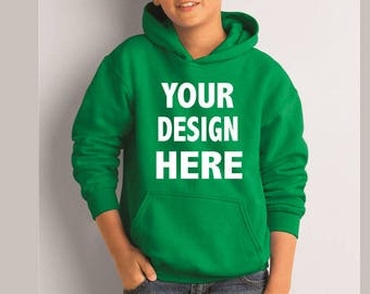 Custom Youth Hoodie Kids Hoodies Child Hoodies for Kids Gifts Children Custom Printed Hoodie Any Name Text Gift Boys & Girls Present Hoodie