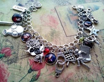 Teen wolf bracelet, Scott Mccall jewelry, Stiles Stilinski jewelry