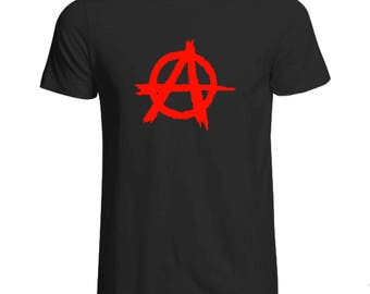 Anarchy T-Shirt Various Sizes and Colours