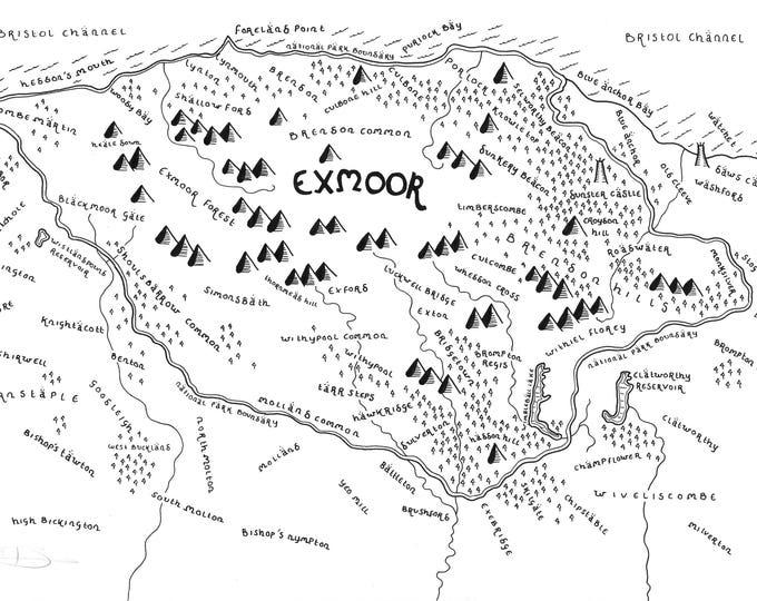 Exmoor National Park - Giclée Print