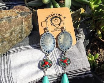 Senorita (blue) Earrings