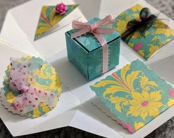 Exploding Box / Birthday Explosion Box/ Couple's Exploding Box