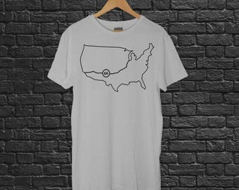 Route 66 Tee (Gray)