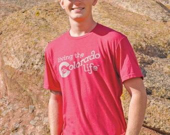 Men's T-shirt - Living the Colorado Life