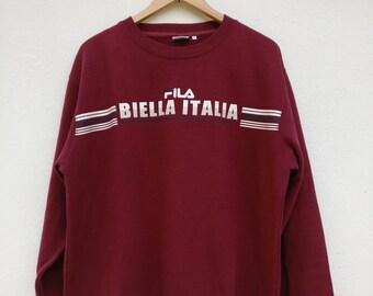 Vintage Fila Biella Italia Sweatshirt