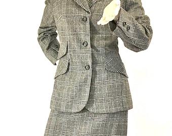 "Vintage plaid suit by ""Suitmaster"""