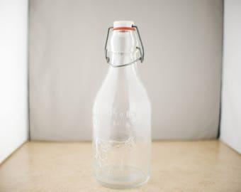 Vintage Absolutely Pure Milk Quart Bottle