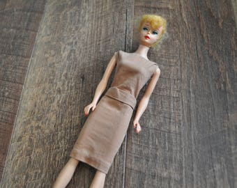Vintage Barbie Clothes - Sorority Meeting #937 Dress 1960's