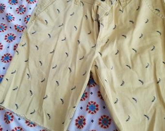 Hipster Yellow Banana shorts