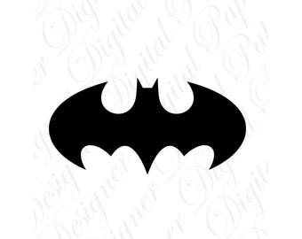 Bat SVG and Studio 3 Cut File Cutouts Files Logos Stencil for Silhouette Cricut Decals SVGS Decal Batman Logo  Man Designs Downloads Holiday